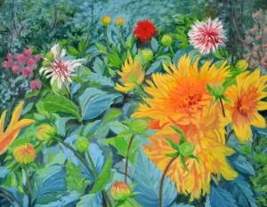 Un quadre de l'artista