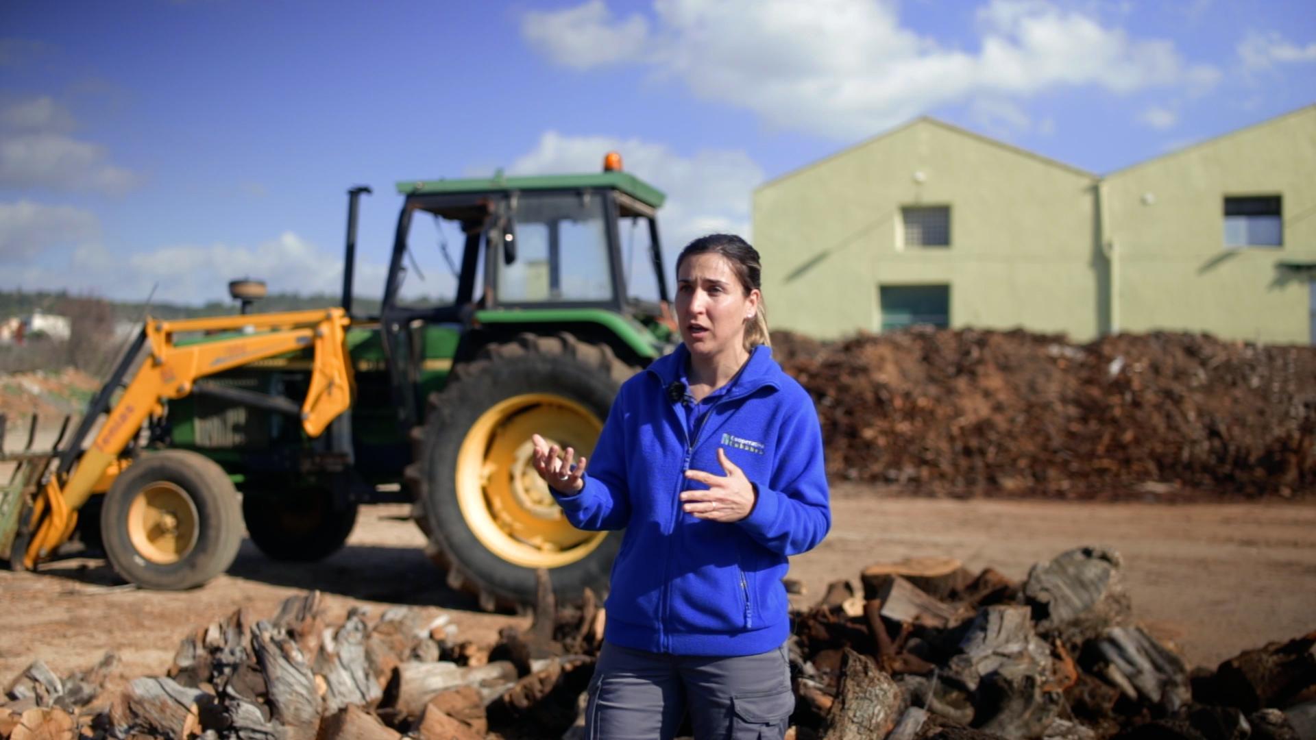 Alícia Valles, a la campanya