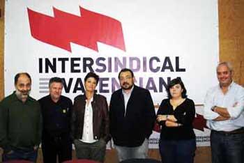 Imatge de la reunió amb Esquerra Republicana del País Valencià