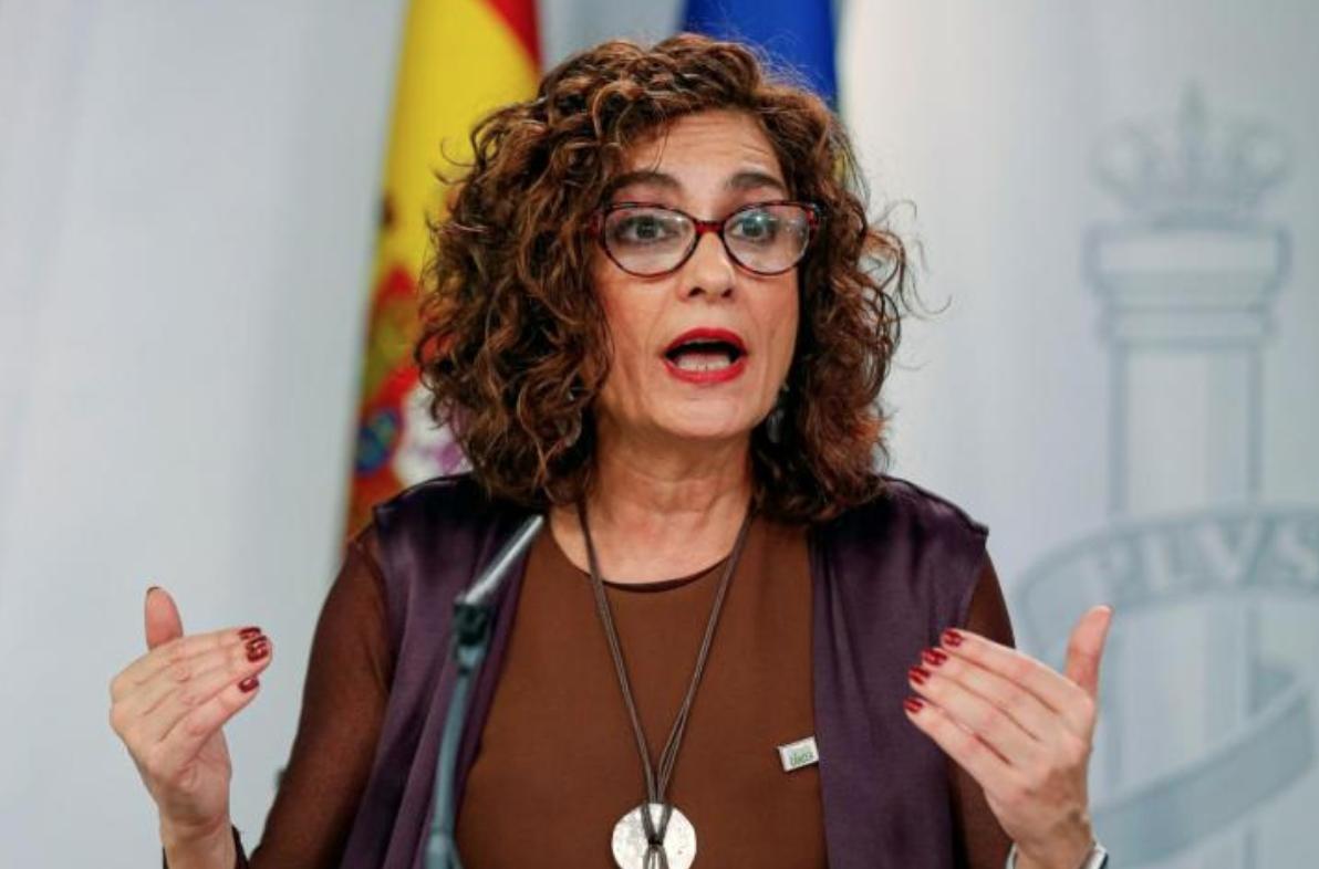 María Jesús Montero, ministra d'Hisenda