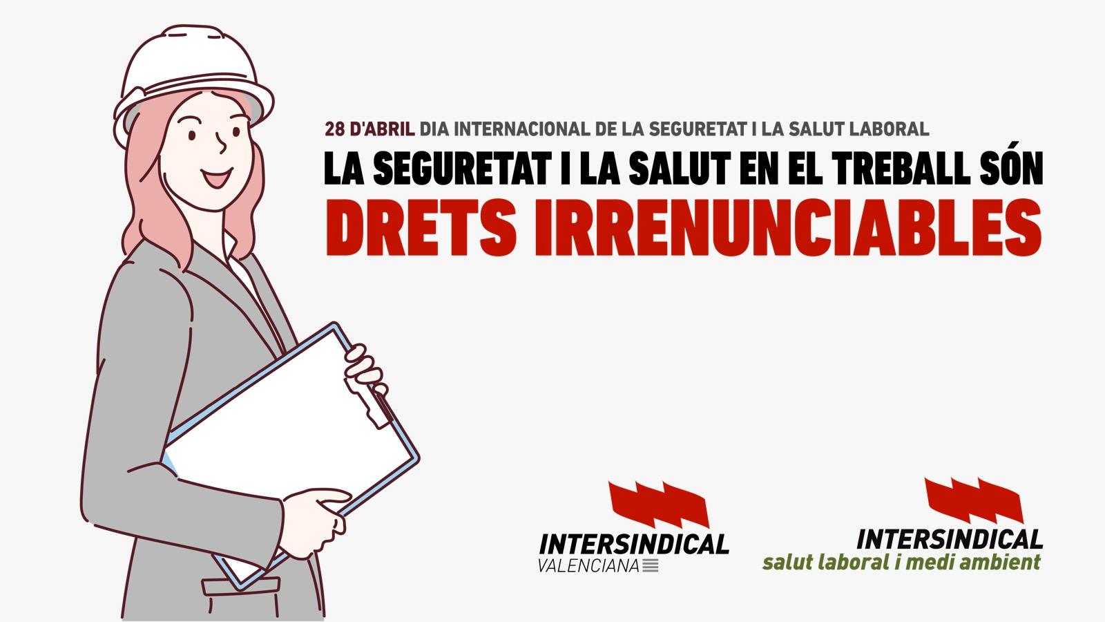 28 d'abril: Dia Internacional de la Seguretat i la Salut Laboral