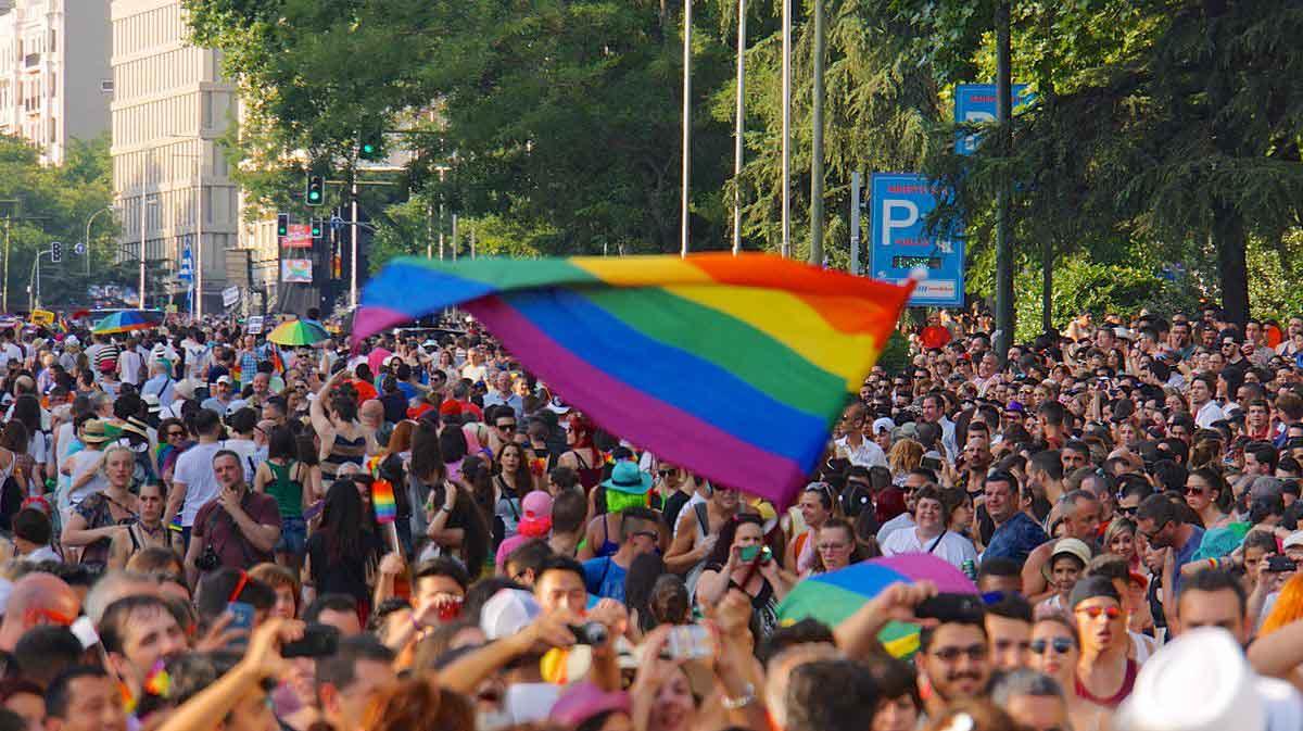 Manifestació de l'orgull LGTBI.