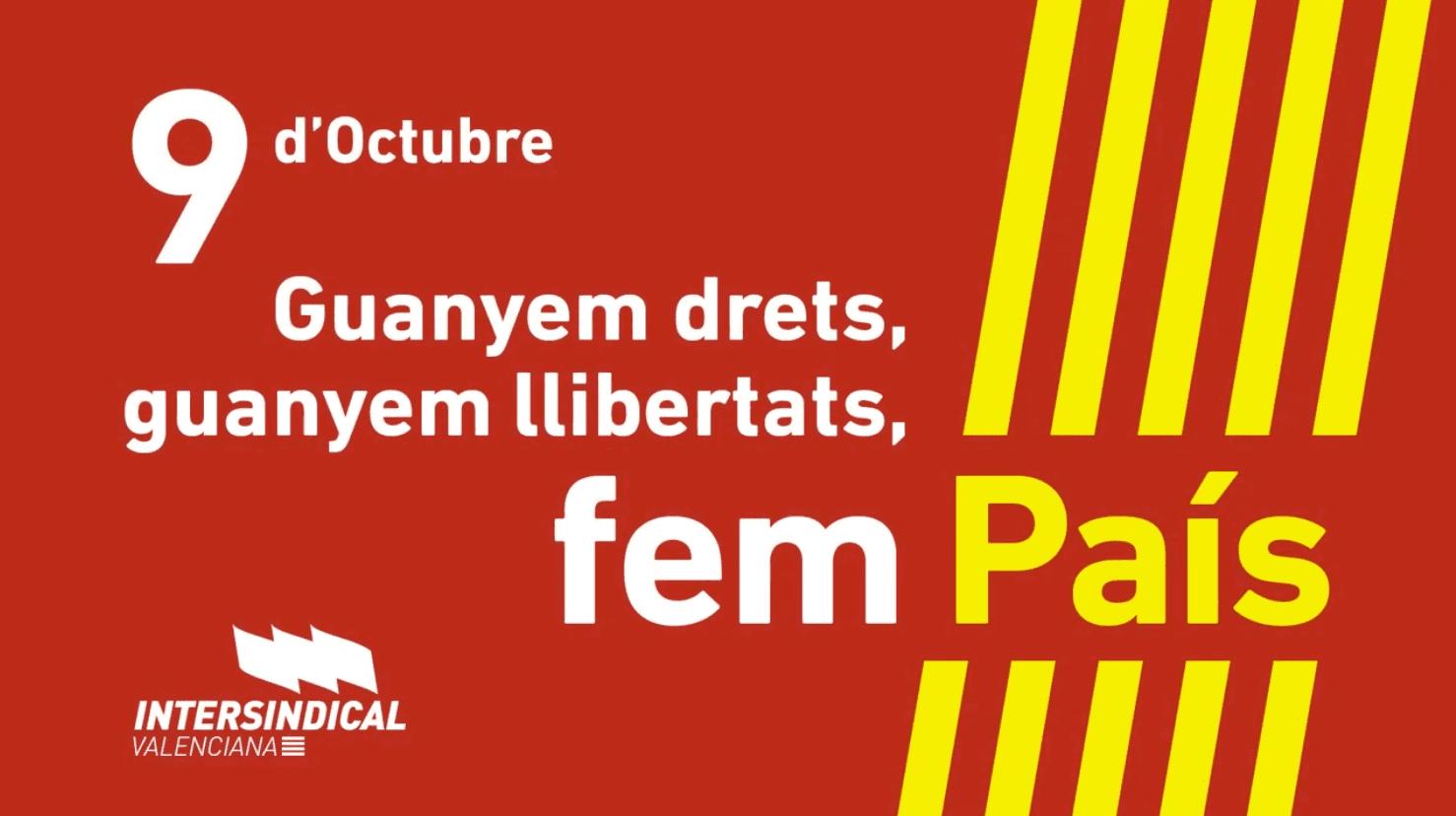 9 d'octubre 2020 - Guanyem drets, guanyem llibertats, fem País