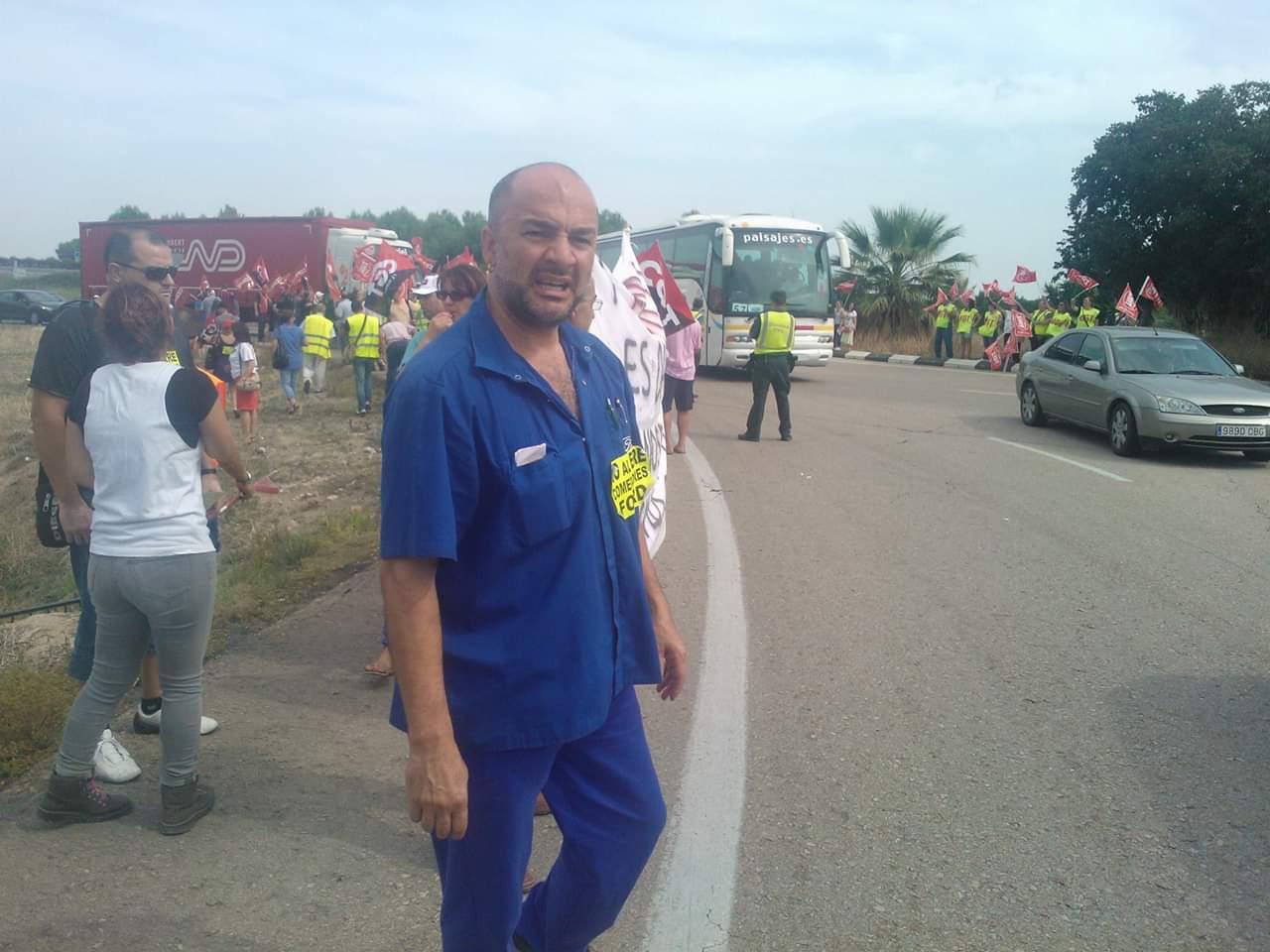 El líder d'STM en FOrs, Paco González.