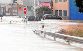 Intersindical amb les persones afectades pel temporal