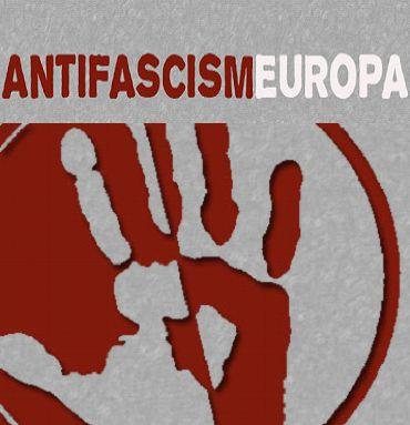 Logo del moviment antifeixista europeu