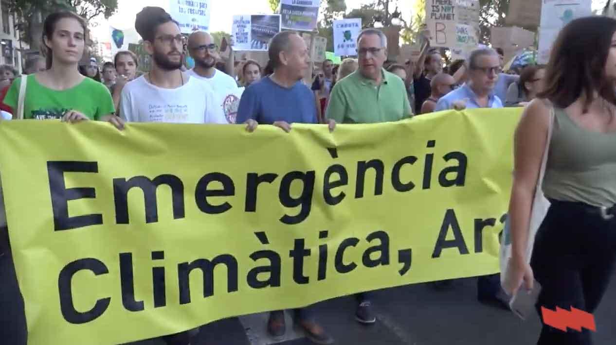 27S Manifestació de la Vaga Mundial pel Clima