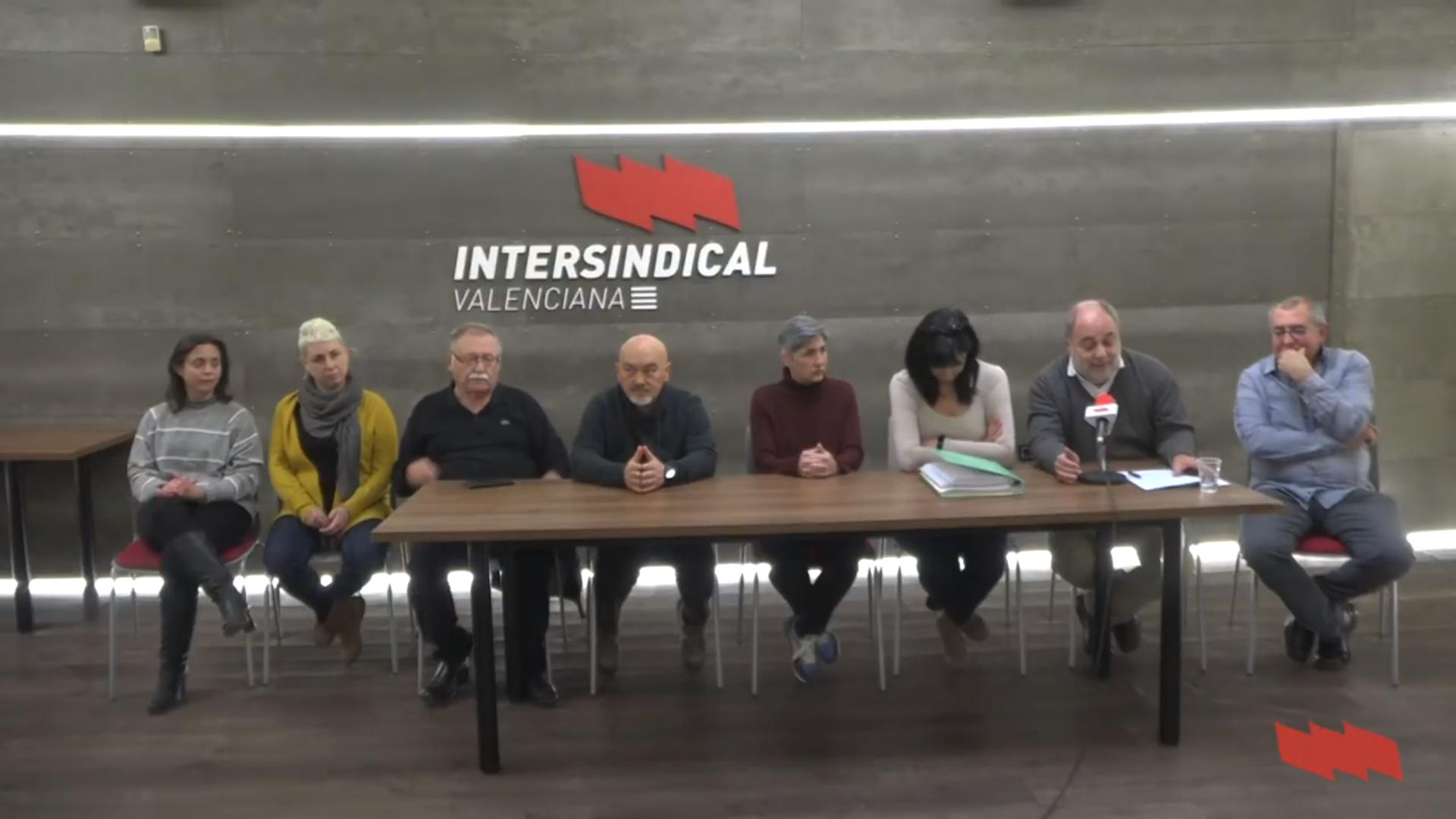 500 membres de CCOO s'afilien a la Intersindical Valenciana