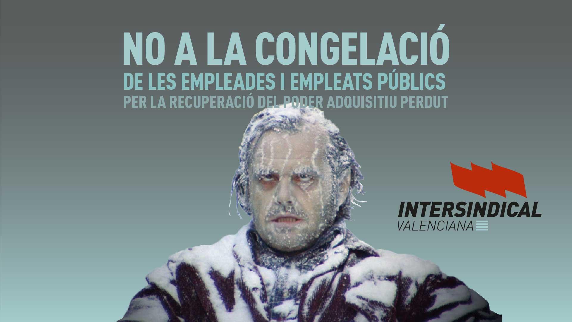 No a la congelació salarial del personal públic