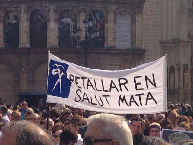 Manifestació a València del 17 de febrer