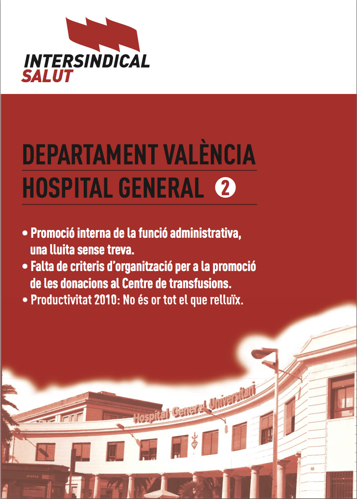 Intersindical Salut. Hospital General 2