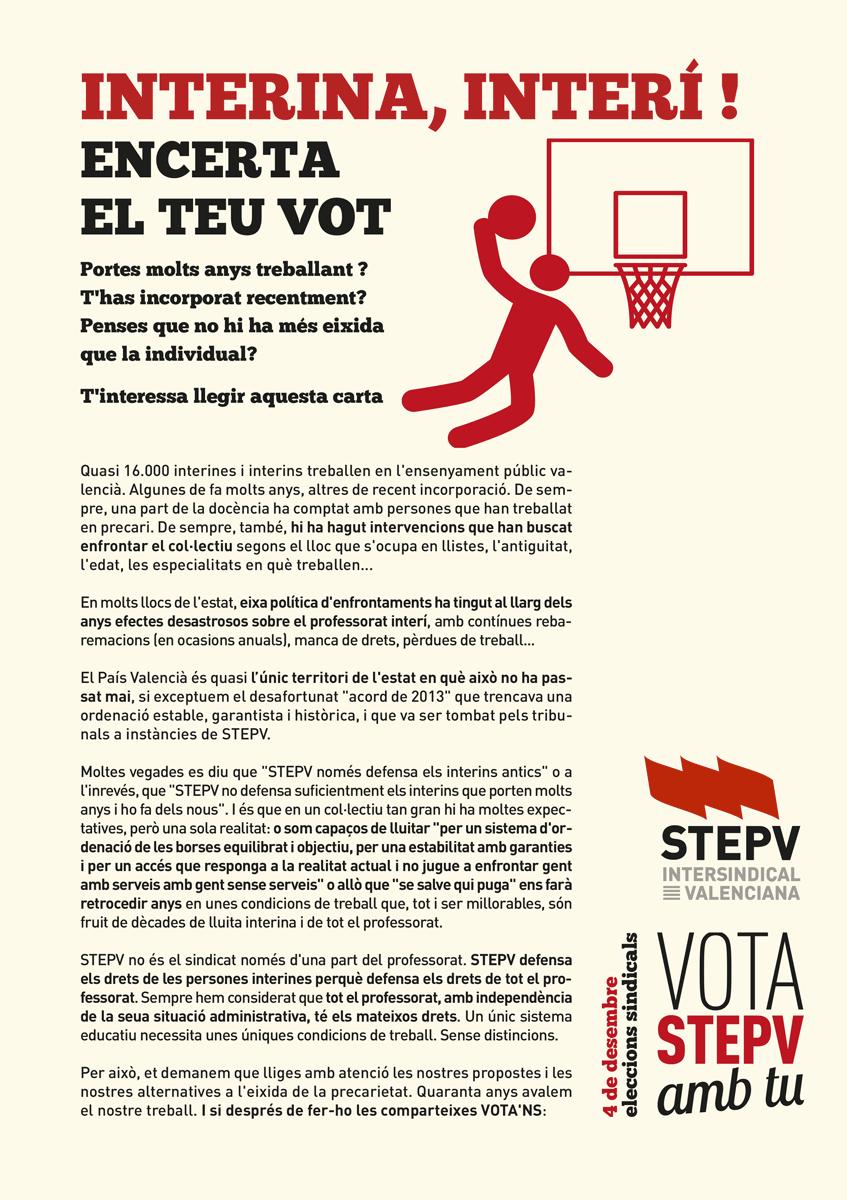 Encerta el teu vot