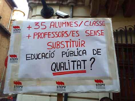 Concentració del 5 d'octubre a València