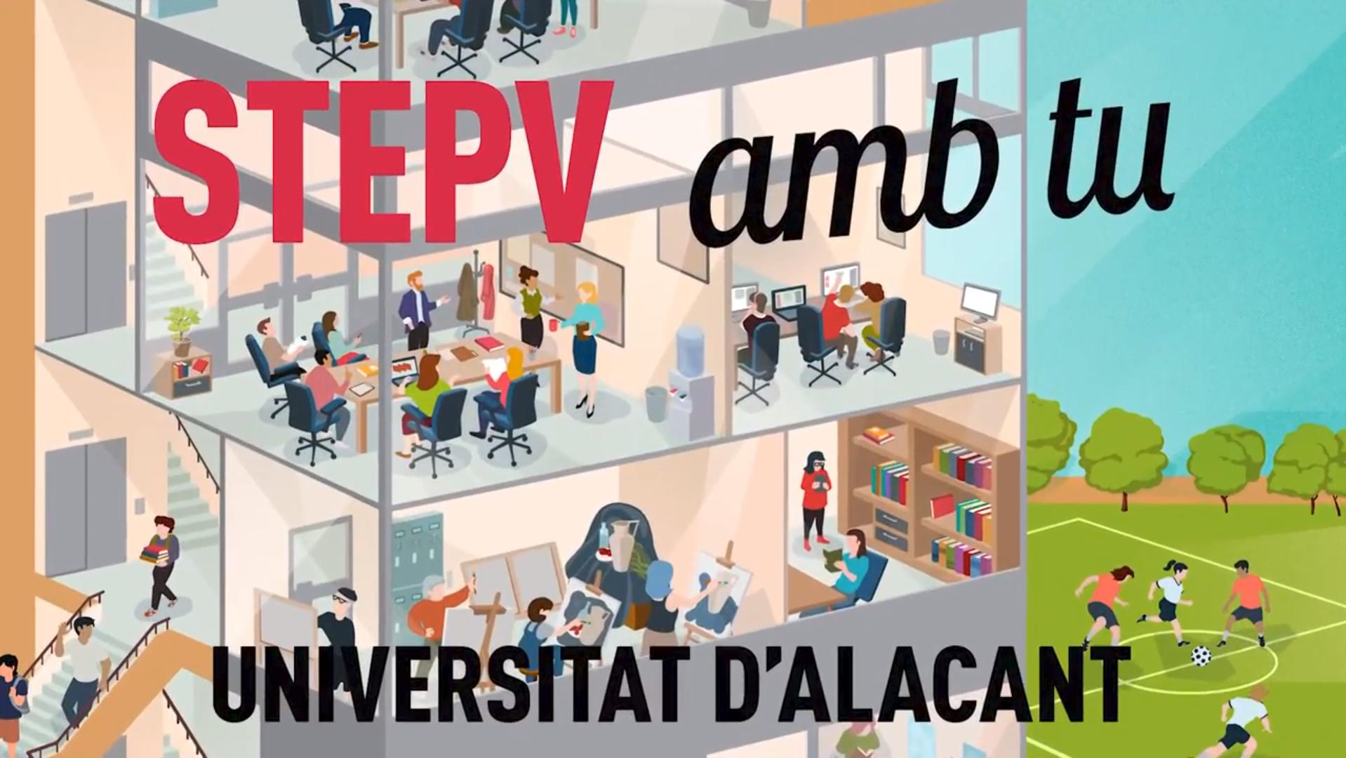 Propostes STEPV personal laboral a la UA