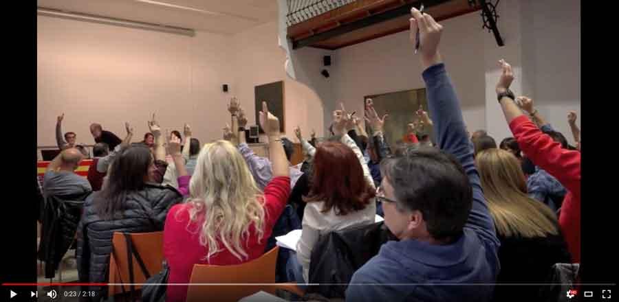 El Consell Nacional aprova mobilitzacions per millorar les condicions del professorat