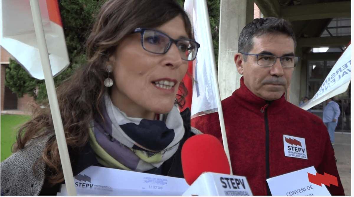 STEPV demana la signatura del conveni col·lectiu i una reunió amb la consellera d'Universitats