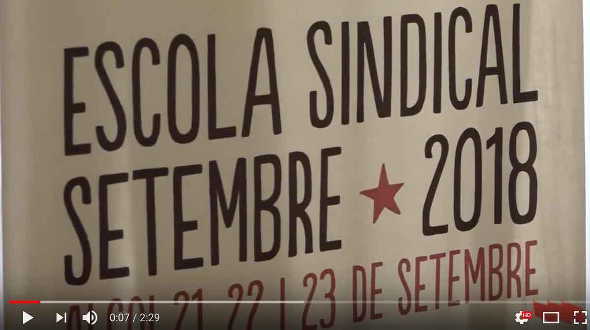 Escola Sindical d'Alcoi - Setembre 2018