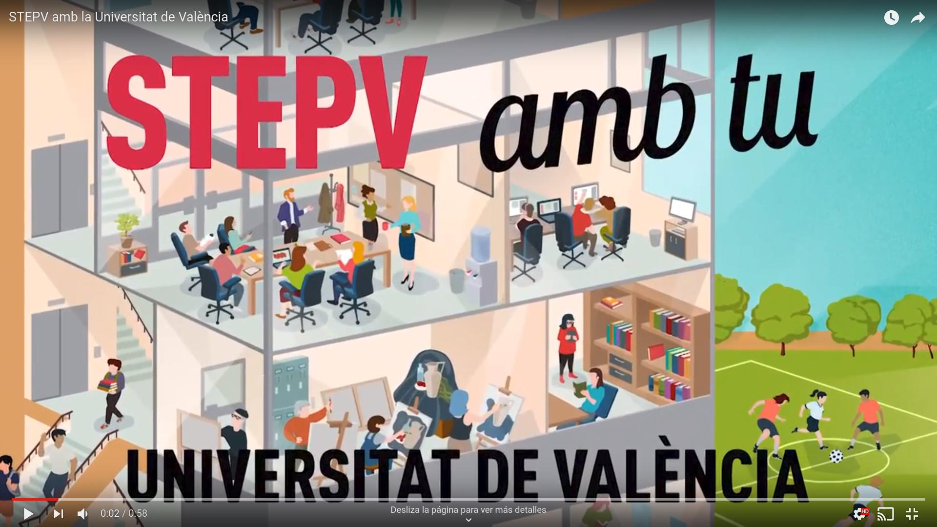 STEPV amb la Universitat de València