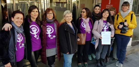 Intersindical Valenciana legalitza la vaga laboral de 24 per al 8 de març