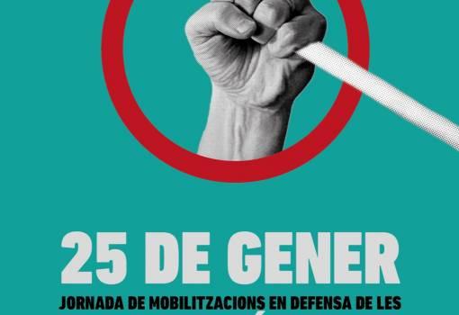 Intersindical Valenciana se suma a les mobilitzacions del moviment de pensionistes del pròxim 25 de gener