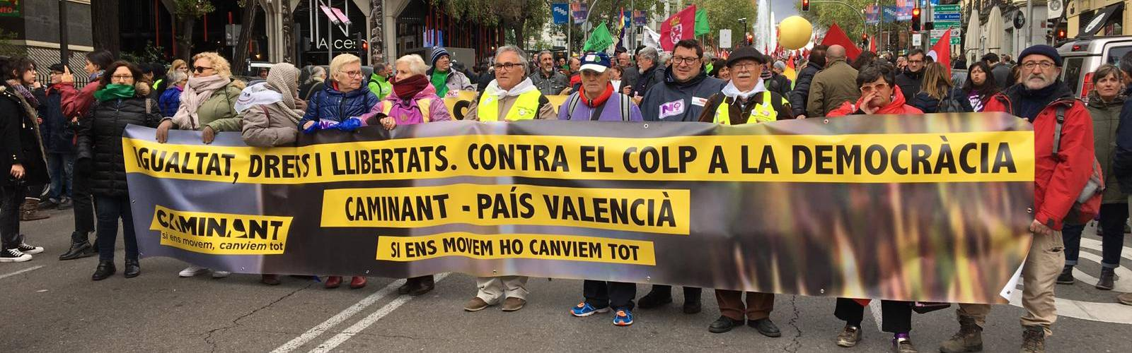 Intersindical participa en 'Caminant'