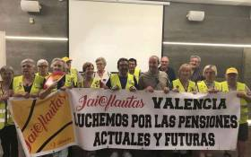CAT - Intersindical Valenciana guardona els iaioflautes