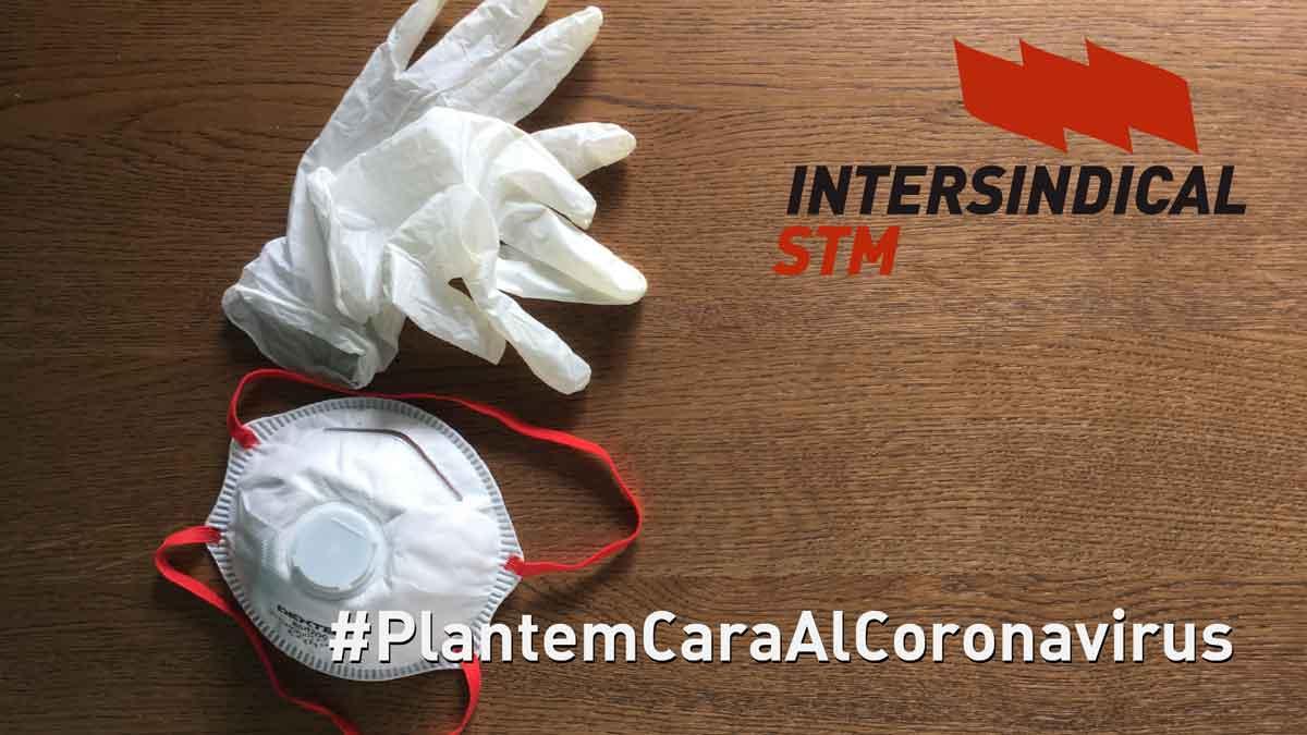 STM  Intersindical Valenciana front a la COVID 19